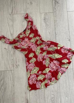 Платье сарафан цветы forever 21