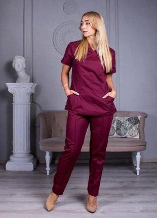 Костюм медицинский женский , жакет и штаны