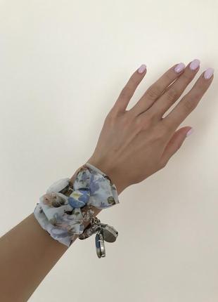 Браслет в винтажном стиле браслет с бантом браслет на магните браслет из шифона