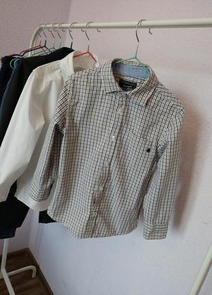 Стильна сорочка в клітинку , стильная рубашка в клетку