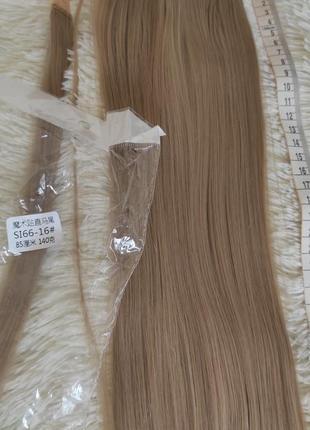 Хвост, искусственные волосы,88см