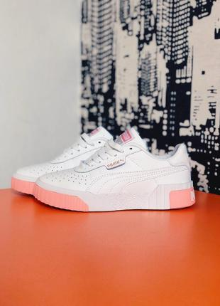 Puma cali white / pink
