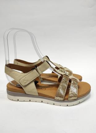 Дуже зручні босоніжки caprice німецька якість!!! шкіряні сандалії нові