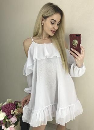 Платье летнее новая коллекция шифон😍😍😍