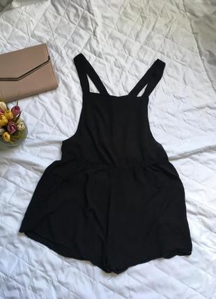 Комбинезон чёрный классический new look