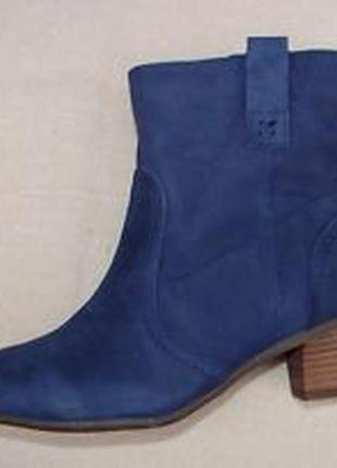 Clarks !удобные ботинки кожаные нубук ботинки размер 40, 41