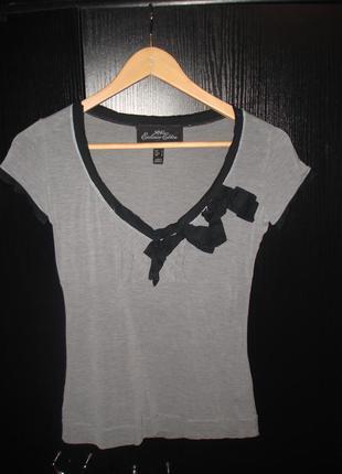 Стильная футболка mango р. s-m