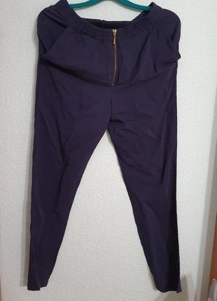Джоггеры брюки шёлк