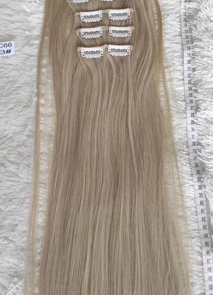 Искусственные волосы, трессы 7 шт на 16 заколках