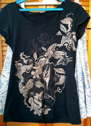 Adidas m-l футболка фирменная