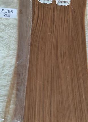 Искусственные волосы, трессы 7шт на 16 клипсах