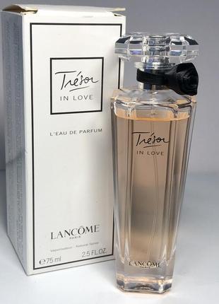 Lancome tresor in love, edр, 1 ml, оригинал 100%!!! делюсь!