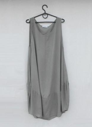 Летнее платье из вискозы