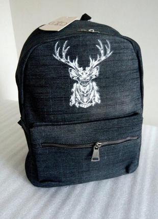Актуальный городской рюкзак с оленем