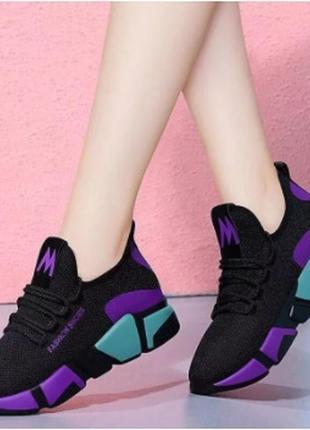 Летнии женские кроссовки 34,35,36,37