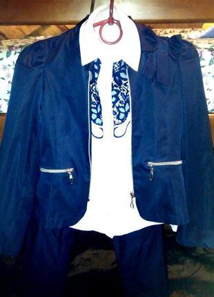 Школьный костюм для девочки 4-ка