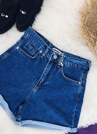 Стильные джинсовые шорты два цвета в наличии