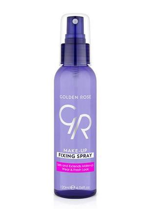 Спрей для фіксації макіяжу golden rose make-up fixing spray