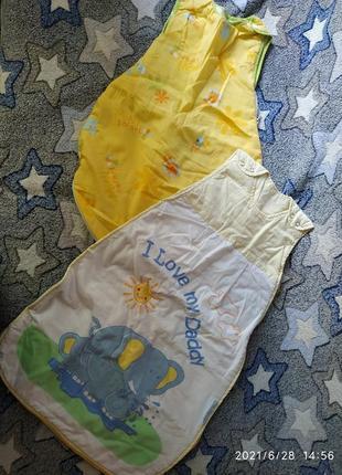 Спальные мешочки для новорожденых и старше.