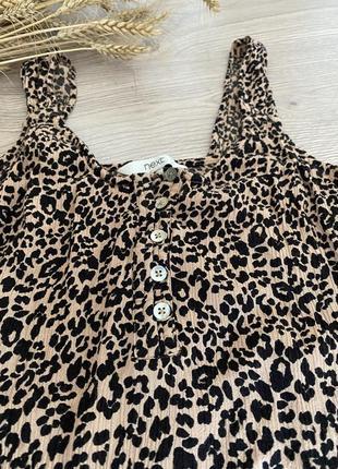 Топ блуза майка в леопардовый принт ❤️