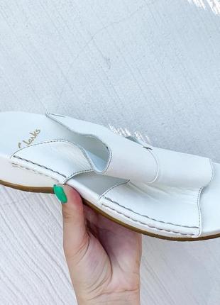 Босоножки сандалии clarks кожа