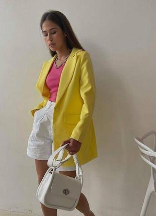 Пиджак женский жакет классический оверсайз свободный летний9 фото