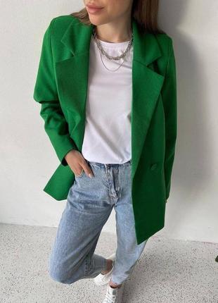 Пиджак женский жакет классический оверсайз свободный летний3 фото