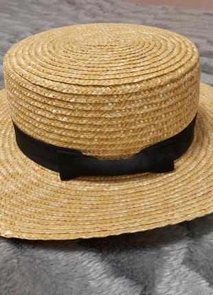 Солом'яний капелюх - канотьє