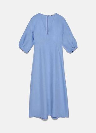 Платье летнее миди zara