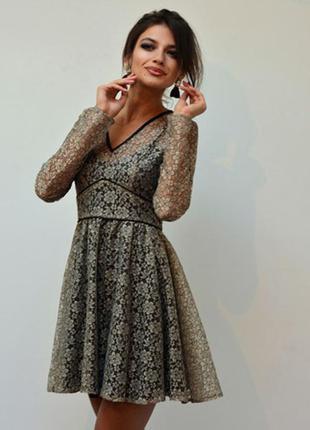 Красивейшее кружевное платье мини asos
