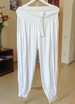 Италия легкие трикотажные штаны шаровары алладины бохо