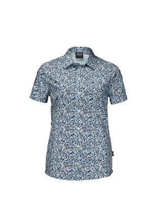 Женская трекинговая рубашкаjack jack wolfskin w sonora millefleur shirt - xl