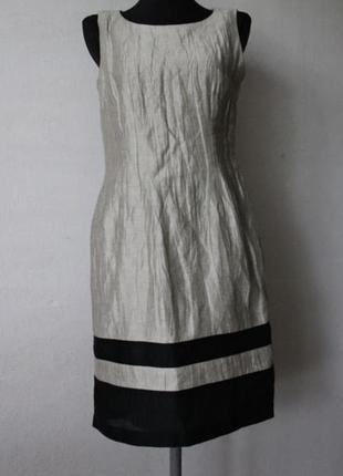 Платье лен precis