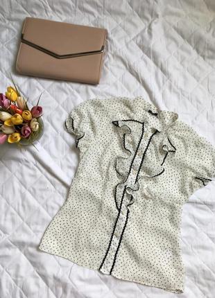 Рубашка в горошек от george