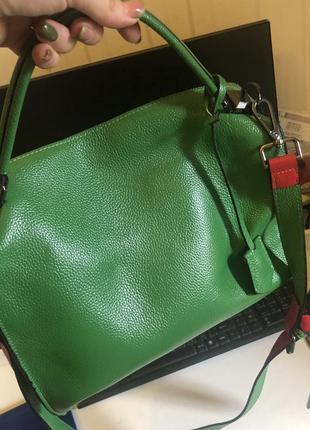 Зелена сумка