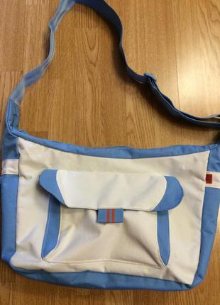 Фирменная большая пляжная сумка tcm tchibo,сумка кросс-боди,шоппер+подарок