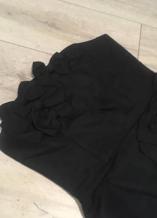 Платье футляр чёрное oasis размер s