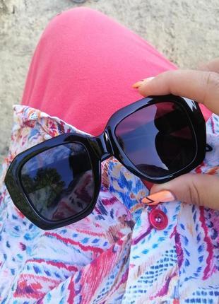 Солнцезащитные очки ☀ в роговой оправе