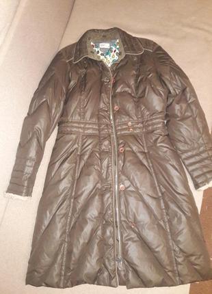 Зимнее пальто пуховик2