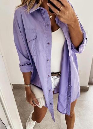 Женская рубашка «коттон»