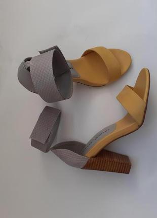 Chinese laundry босоножки на устойчивом каблуке