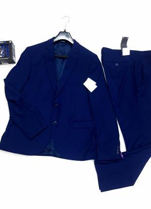 Шикарный легкий костюм angelo litrico размер 52- 54