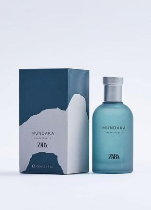 Zara mundaka духи  мужские чоловічі парфюм 100мл