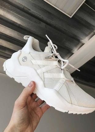 Timberland madbury fabric новые белые кроссовки