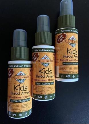 All terrain,рослинний натуральний захисний спрей від комарів для діток. 59мл