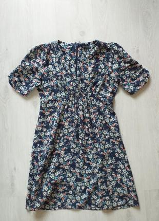 Платье летнее очень красивое с модным цветочным принтом