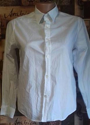 Рубашка hugo boss,100%хлопок,р.s