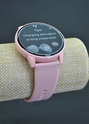 Смарт часы фитнес-браслет 4you benefit розовые