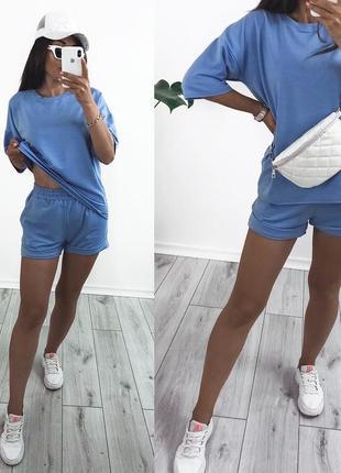 Костюм летний с шортами