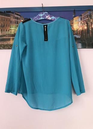 Блуза красивого цвета , натуральная блуза